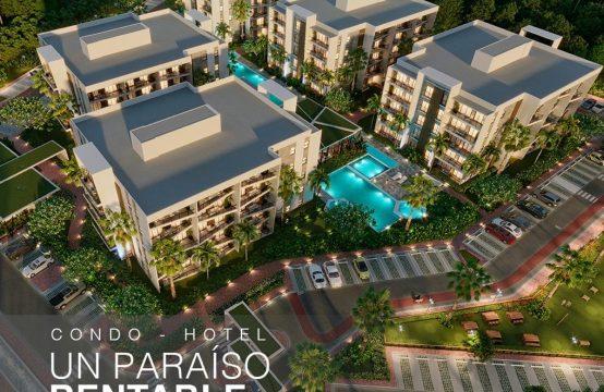 Vista Cana Towers Condo Hotel Apartamento en Venta Punta Cana